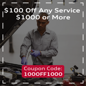 $100 Off Any Service $1000 or More
